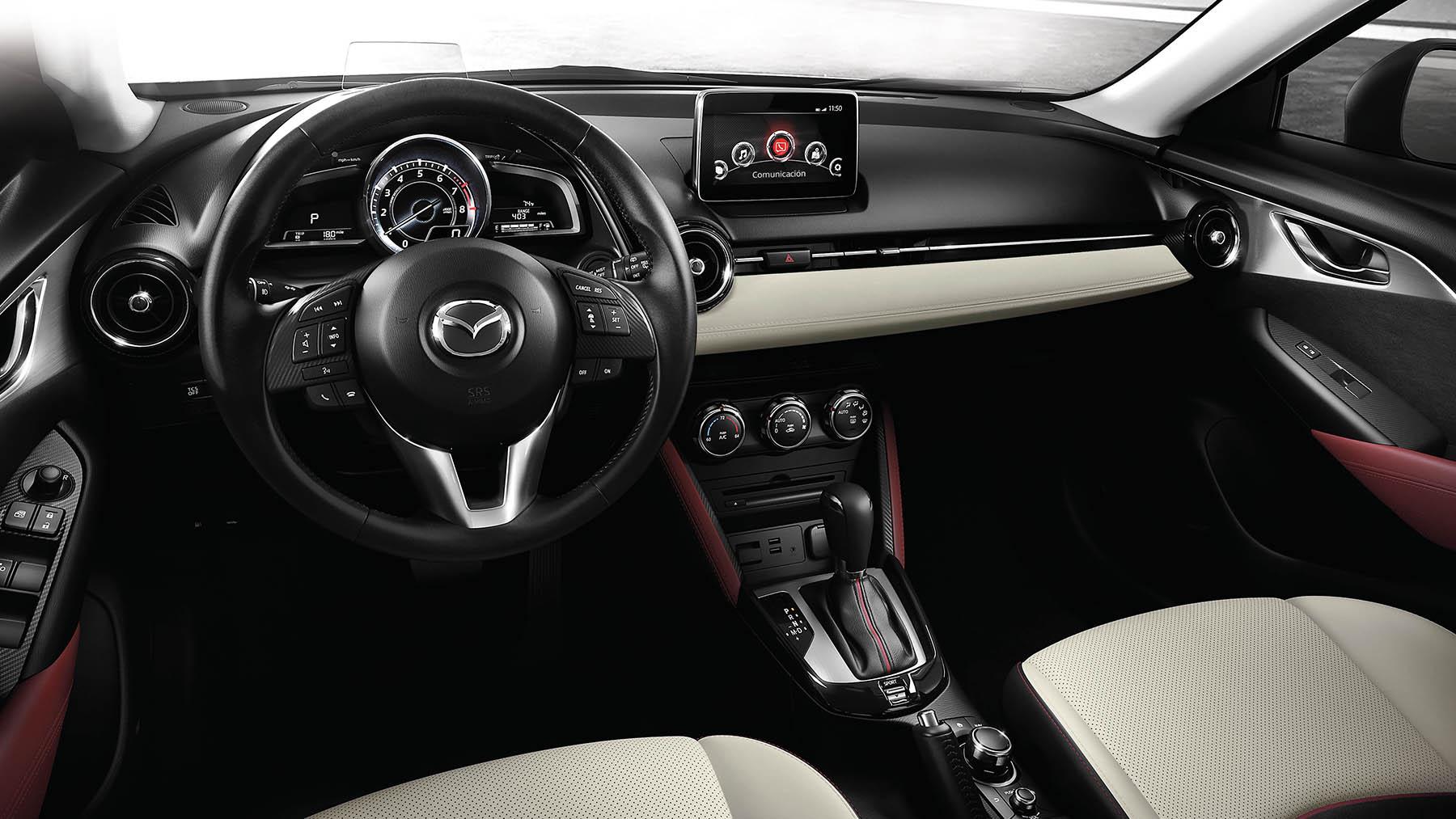 Mazda cx 3 2017 la emoci n debe continuar for Mazda cx 3 interieur