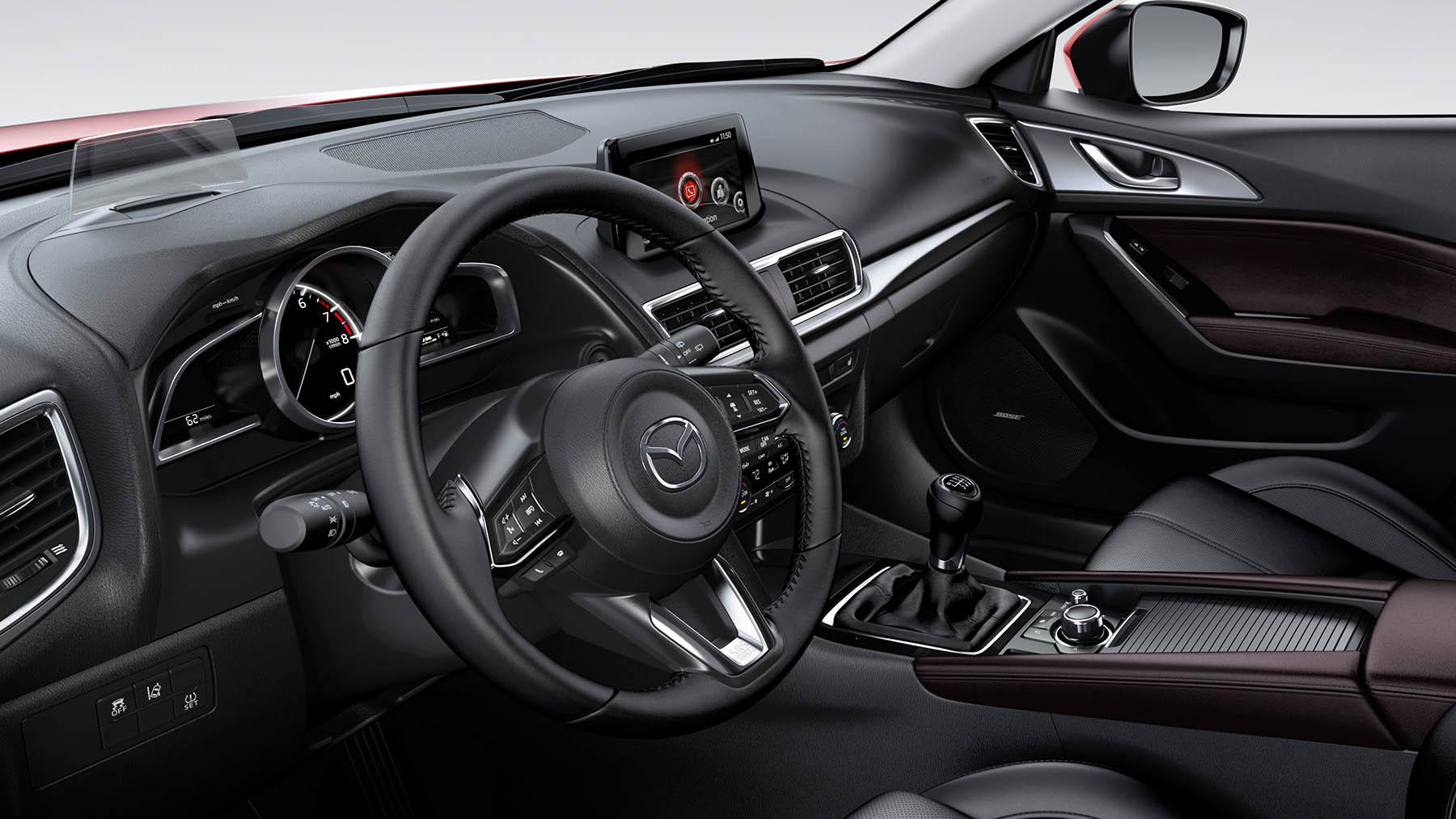 Mazda 3 hatchback 2017 revive el zoom zoom for Mazda 3 2017 hatchback interior
