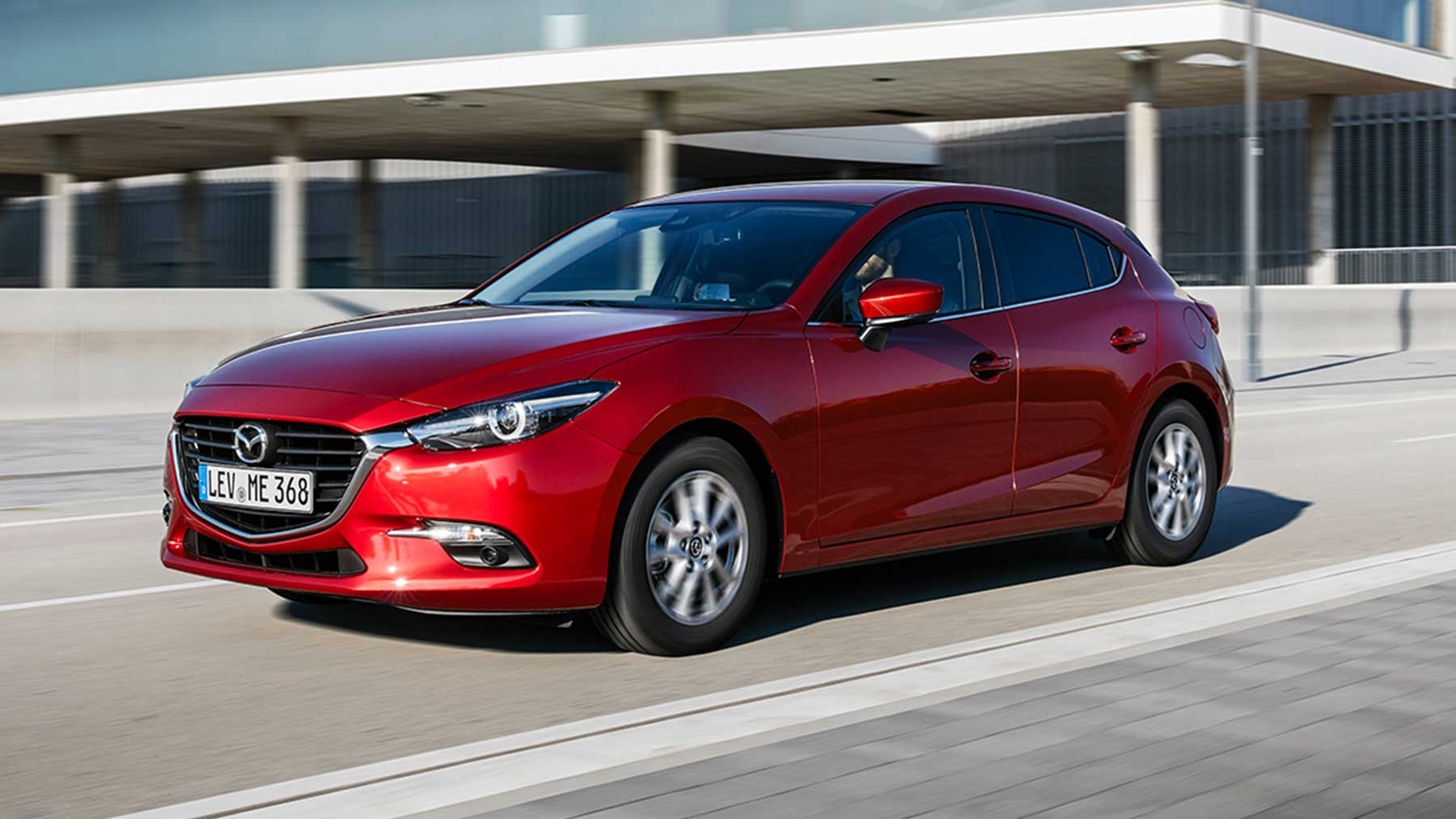 mazda 3 hatchback 2018 drive together. Black Bedroom Furniture Sets. Home Design Ideas